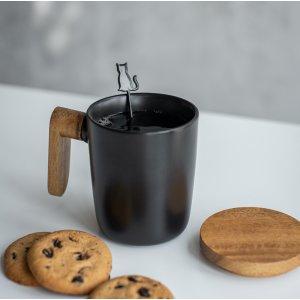 Чашка Wood Black