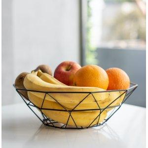 Корзина для фруктів чорна