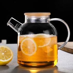 Чайник скляний для заварки чаю